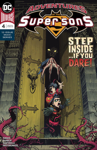 ADVENTURES OF THE SUPER SONS #4 (OF 12)