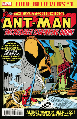 TRUE BELIEVERS ANT-MAN INCREDIBLE SHRINKING DOOM #1