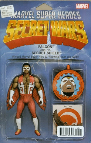 SECRET WARS #5 CHIRSTOPHER ACTION FIGURE