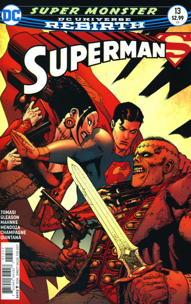 SUPERMAN #13 VOL 5 COVER A 1st PRINT