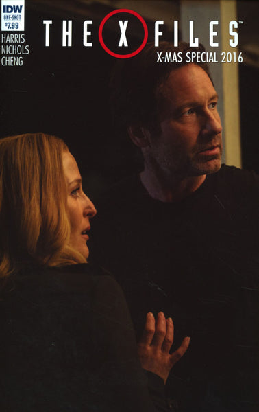 X-FILES X-MAS SPECIAL 2016 PHOTO VAR