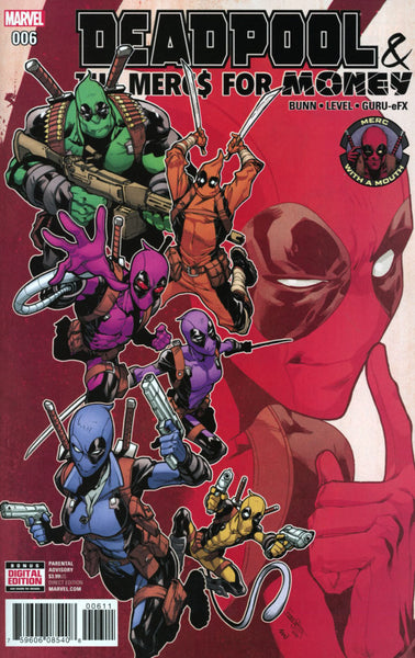 DEADPOOL & THE MERCS FOR MONEY #6 VOL 2 COVER A 1st PRINT
