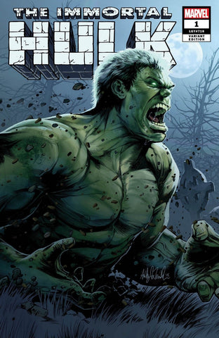 IMMORTAL HULK #1 ASHELY WITTER EXCLUSIVE