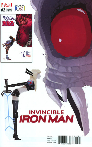 INVINCIBLE IRON MAN #2 VOL 3 COVER B ICX VARIANT