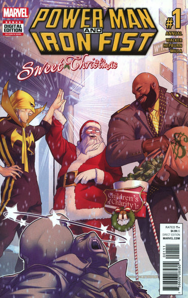 POWER MAN & IRON FIST ANNUAL #1 V3 SWEET CHRISTMAS COVER A