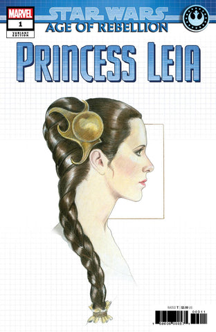STAR WARS AOR PRINCESS LEIA #1 CONCEPT VAR