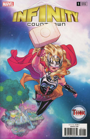 INFINITY COUNTDOWN #1 (OF 5) DAUTERMAN MIGHTY THOR VAR LEG