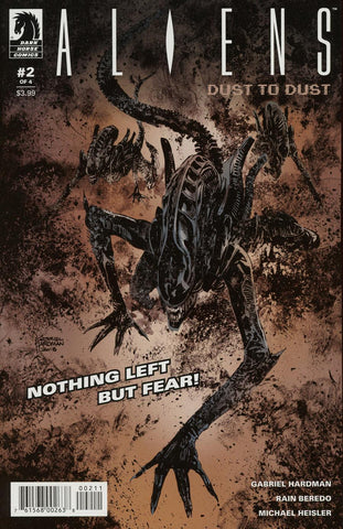 ALIENS DUST TO DUST #2 (OF 4) MAIN CVR (MR)