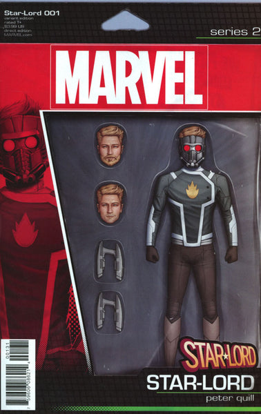 STAR LORD #1 VOL 3 COVER C ACTION FIGURE VARIANT