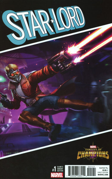 STAR LORD #1 VOL 3 GAMES VAR NOW