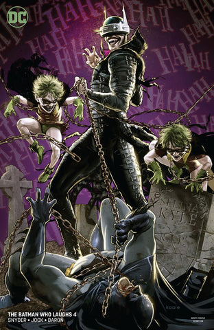 BATMAN WHO LAUGHS #4 (OF 6) VAR ED