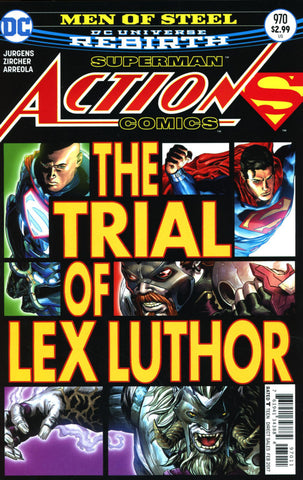 ACTION COMICS VOL 2 #970 COVER A 1st PRINT