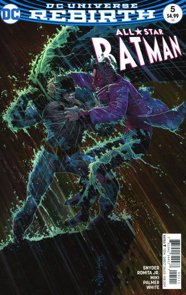 ALL STAR BATMAN #5 COVER A 1st PRINT