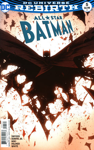 ALL STAR BATMAN #5 COVER B SHALVEY VARIANT