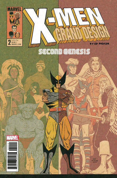 X-MEN GRAND DESIGN SECOND GENESIS #2 (OF 2)