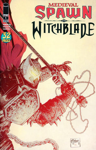 MEDIEVAL SPAWN WITCHBLADE #1 (OF 4) CVR B MCFARLANE