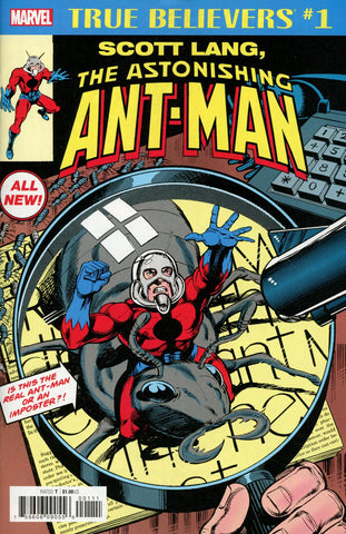 TRUE BELIEVERS SCOTT LANG ASTONISHING ANT-MAN #1