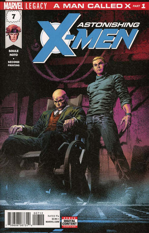 ASTONISHING X-MEN #7 2ND PTG DEODATO VAR LEG