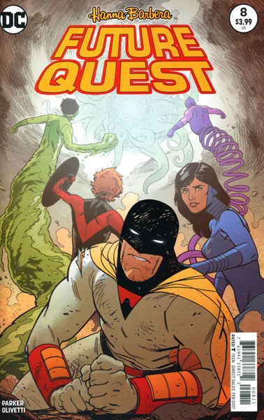 FUTURE QUEST #8 COVER A 1ST PRINT