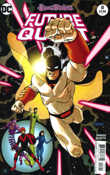 FUTURE QUEST #8 COVER B DAVE JOHNSON VARIANT