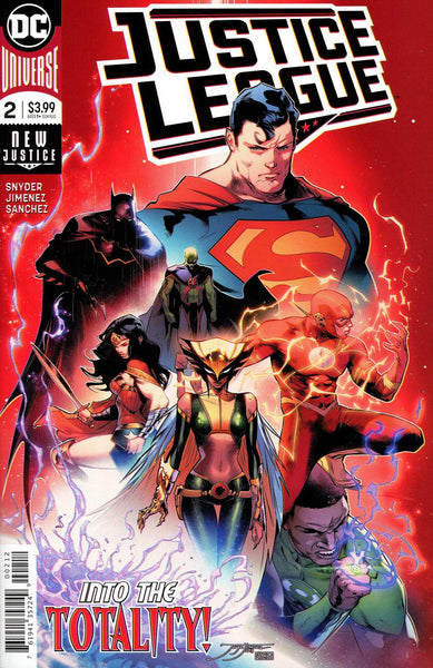 JUSTICE LEAGUE #2 2ND PTG