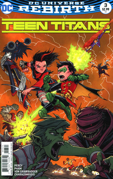 TEEN TITANS #3 VOL 6 COVER B BURNHAM VARIANT