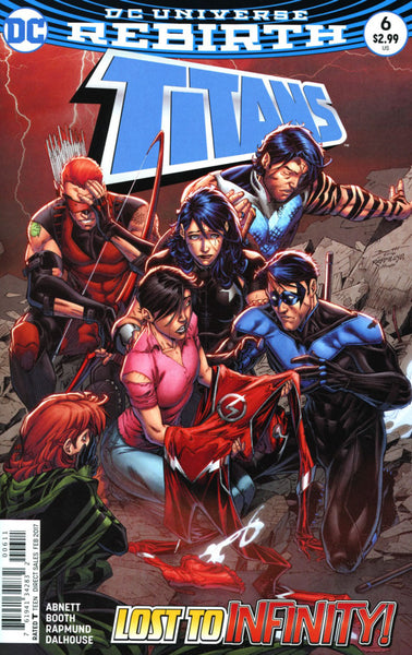 TITANS #6 VOL 3 COVER A 1st PRINT