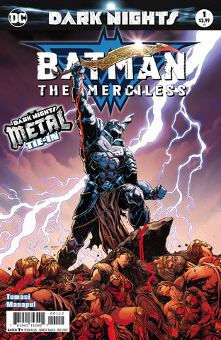 BATMAN THE MERCILESS #1 (METAL) FOIL STAMPED COVER