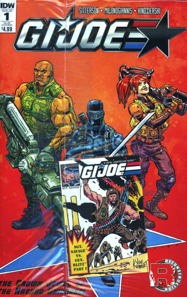 GI JOE (2016) #1  MICRO COMIC VAR