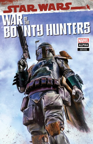 STAR WARS: WAR OF THE BOUNTY HUNTERS #1 ALPHA TURINI EXCLUSIVE