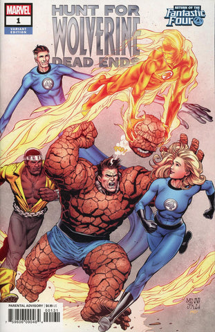 HUNT FOR WOLVERINE DEAD ENDS #1 MCNIVEN FANTASTIC FOUR VAR