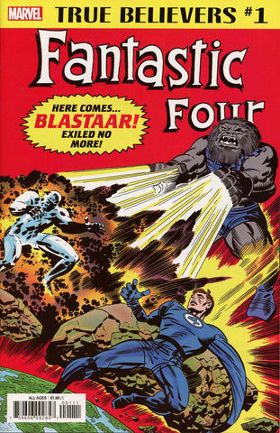 TRUE BELIEVERS FANTASTIC FOUR BLASTAAR #1
