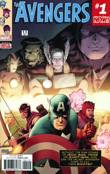 AVENGERS VOL 6 #1.1 2ND PTG KITSON VAR NOW