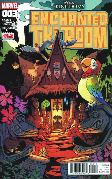 DISNEY KINGDOMS ENCHANTED TIKI ROOM #3 COVER A 1st PRINT
