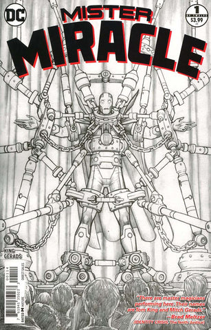 MISTER MIRACLE #1 (OF 12) 4TH PTG