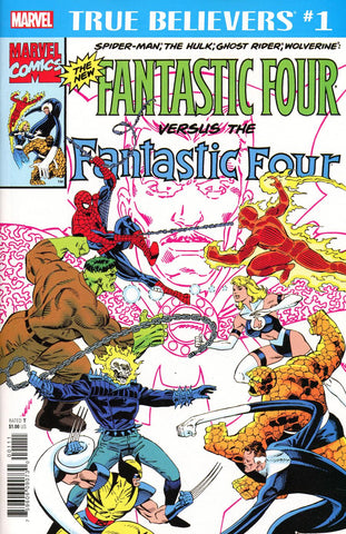 TRUE BELIEVERS NEW FANTASTIC FOUR #1