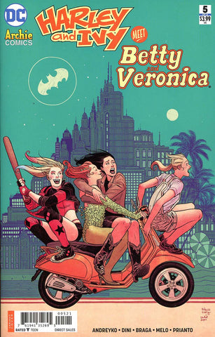 HARLEY & IVY MEET BETTY & VERONICA #5 (OF 6) VAR ED