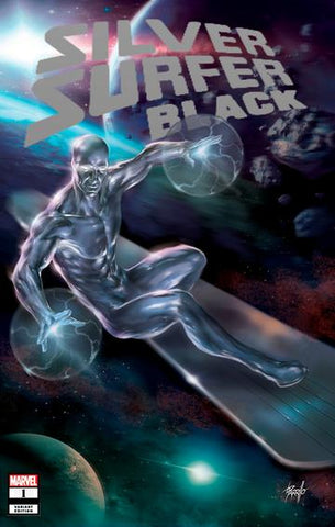 SILVER SURFER BLACK #1 (OF 5) UNKNOWN LUCIO PARRILLO EXCLUSIVE