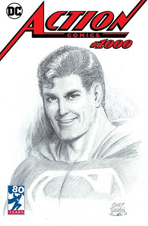 ACTION COMICS #1000 DF CURT SWAN EXCLUSIVE