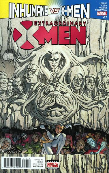 EXTRAORDINARY X-MEN #17 COVER A 1ST PRINT