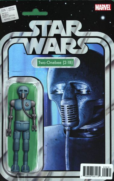 STAR WARS VOL 4 #26 COVER B ACTION FIGURE VARIANT