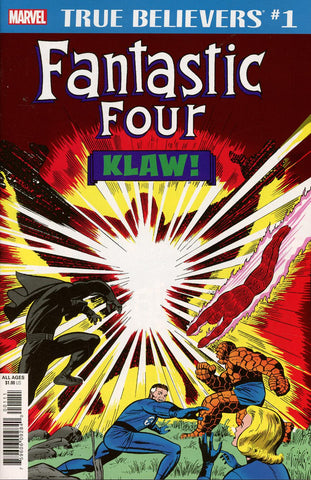 TRUE BELIEVERS FANTASTIC FOUR KLAW #1