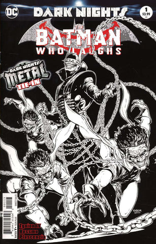 BATMAN WHO LAUGHS #1 3RD PTG METAL