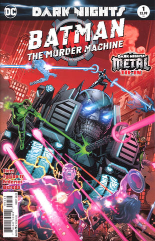 BATMAN THE MURDER MACHINE #1 3RD PTG METAL