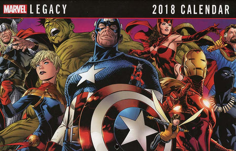 MARVEL 2018 CALENDER - LIMIT 1 PER