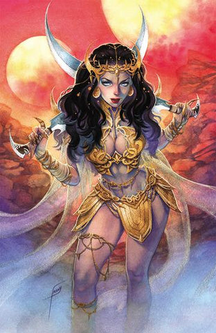 DEJAH THORIS (2019) #1 UNKNOWN FRANY VIRGIN EXCLUSIVE