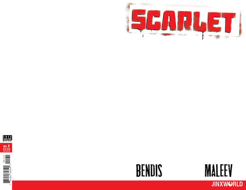 SCARLET #1 (OF 5) BLANK VAR ED (MR)
