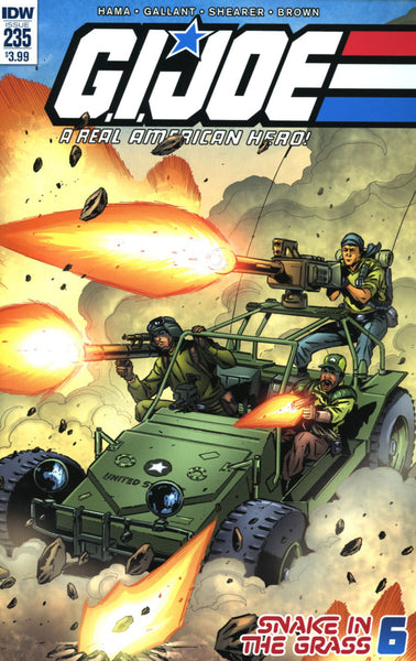 GI JOE A REAL AMERICAN HERO #235 MAIN COVER