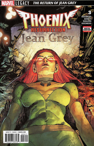 PHOENIX RESURRECTION RETURN JEAN GREY #3 (OF 5) LEG