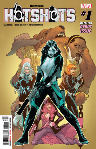 DOMINO HOTSHOTS #1 (OF 5)